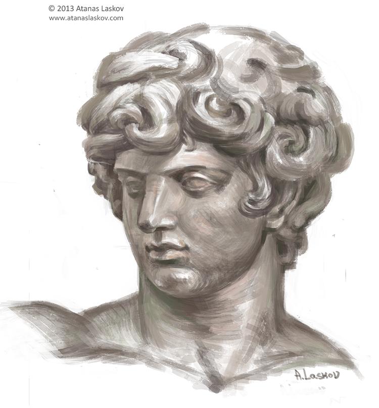 Laskov Greek Head