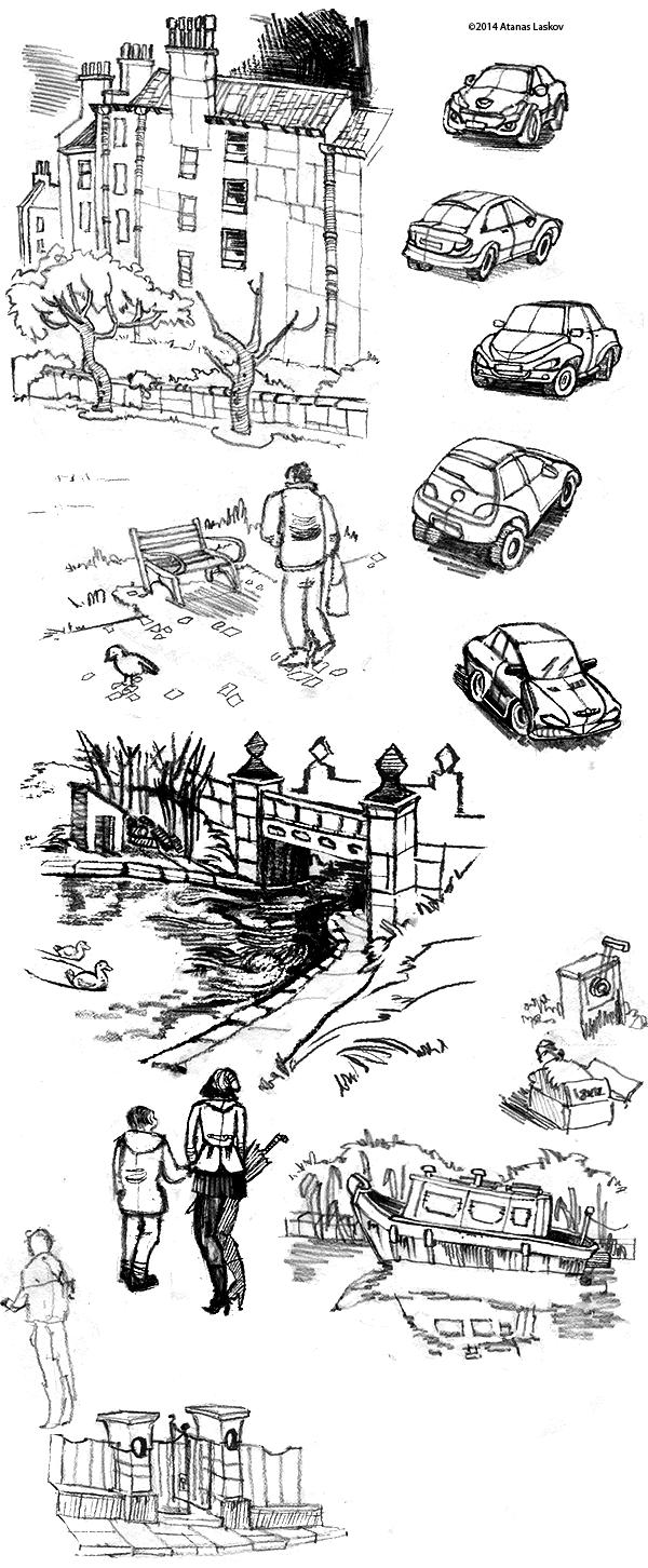 Edinburgh Sketches