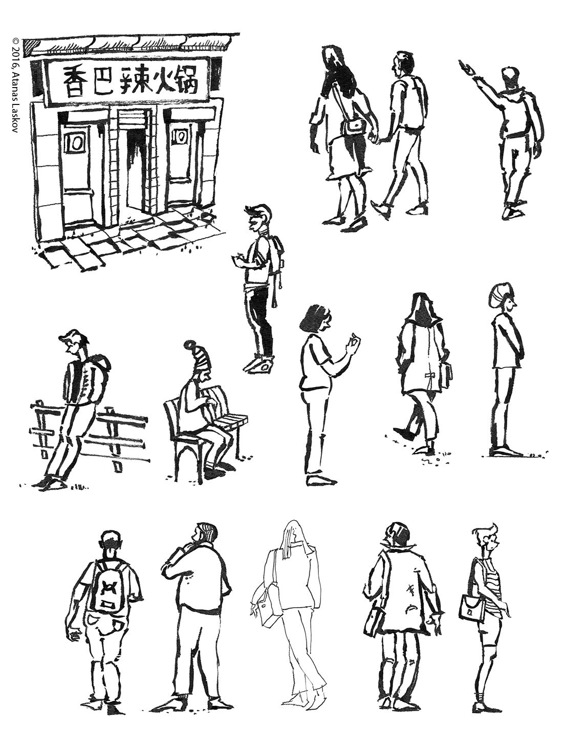Laskov Urban Sketching