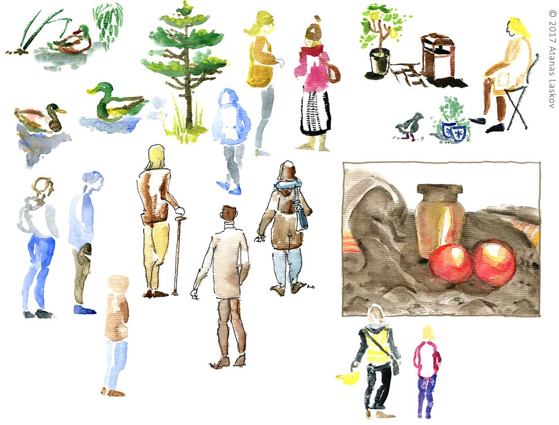 Laskov Loose Sketches
